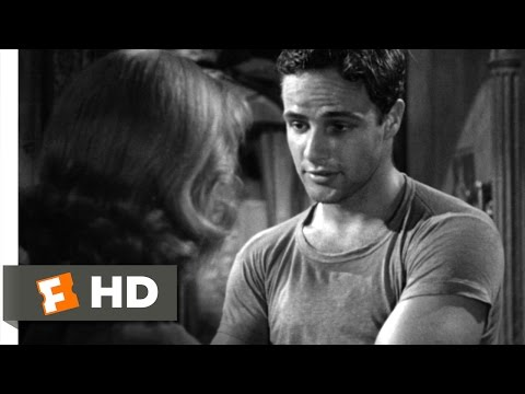 A Streetcar Named Desire (1/8) Movie CLIP - You Must Be Stanley (1951) HD