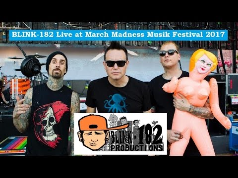 Blink-182 Live at March Madness Music Festival 2017 [ PRO SHOT 1080p ]