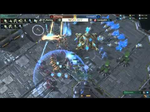WCG 2012 Grand Final Starcraft 2 CombatEX vs PartinG