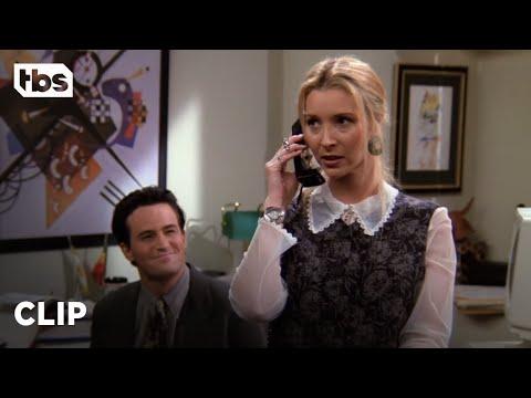 Friends: Phoebe Becomes Chandler's Temp Secretary (Season 1 Clip) | TBS