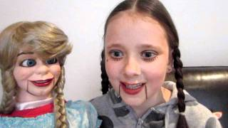 World's Youngest Ventriloquist Girl 8 years old 2nd Video Thumbnail