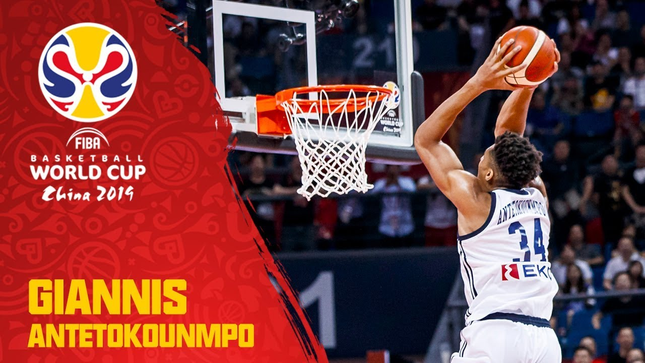 GIANNIS puts on an ABSOLUTE show against Montenegro!