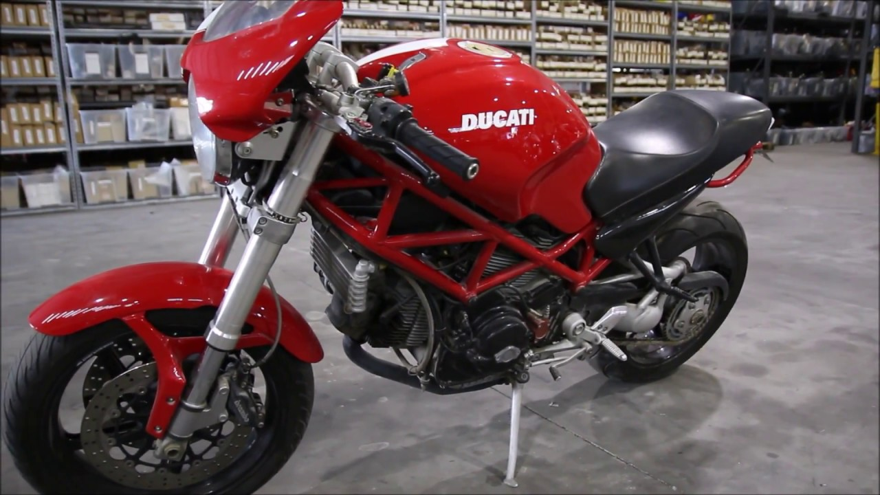 2007 Ducati Monster S2R 1000 Used Parts - YouTube