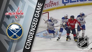 Washington Capitals vs Buffalo Sabres – Feb. 19, 2018 | Game Highlights | NHL 2017/18. Обзор