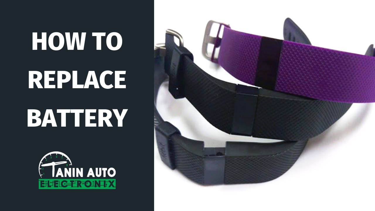 How To Repair & Waterproof Fitbit Charge HR with