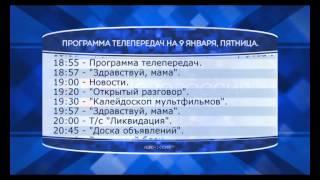 """Программа телепередач канала """"Новороссия ТВ"""" на 9.01.2015"""