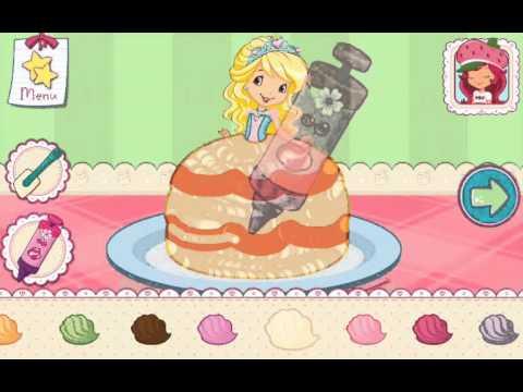 Strawberry Shortcake Bake Shop Princess Cake Games Part 4 ...