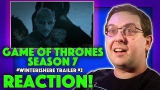 REACTION! Game of Thrones Season 7 #WinterIsHere Trailer #2 - HBO Series 2017