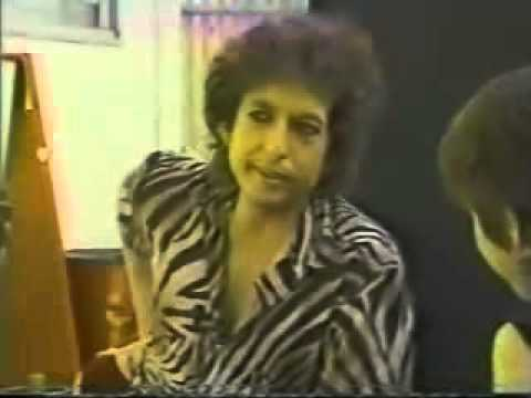 Bob Dylan   Martha Quinn Interview 1984 1 of 5