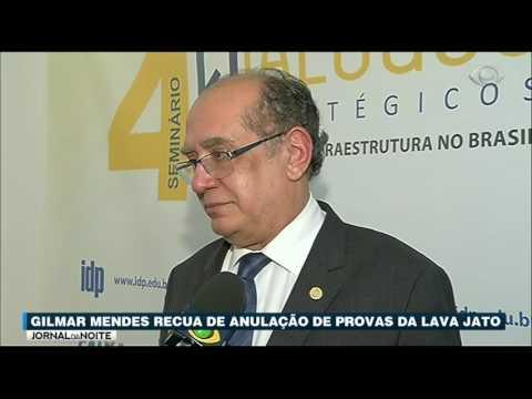 Ministro Gilmar Mendes Recua Sobre Anulação De Provas