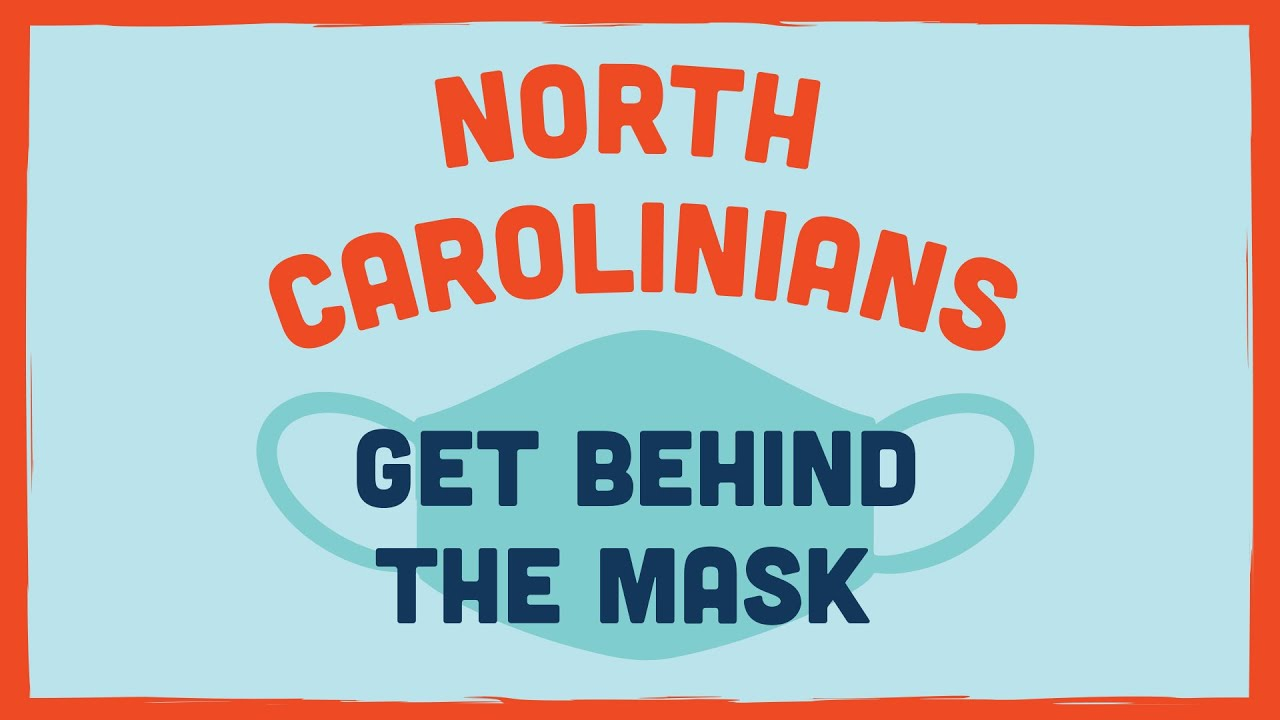 North Carolinians Get Behind the Mask