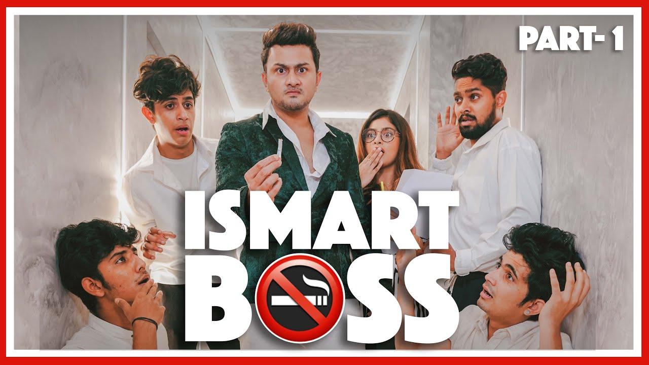 Ismart BOSS 😎 #AwezDarbar #IsmartSeries