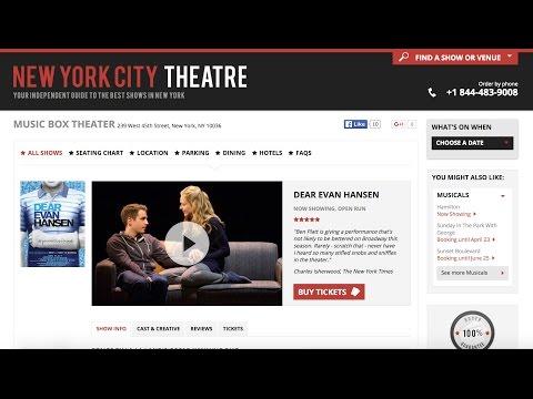 30 Second Review: Dear Evan Hansen - Music Box Theatre