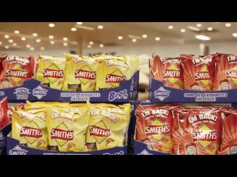Smith's Chips Grab 'em Before They Disappear Ft. Gobbledok TV Commercial 2017
