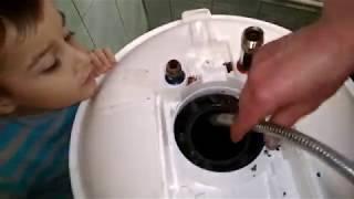 Як почистити бойлер з сухими Тенами. Ремонт бойлера