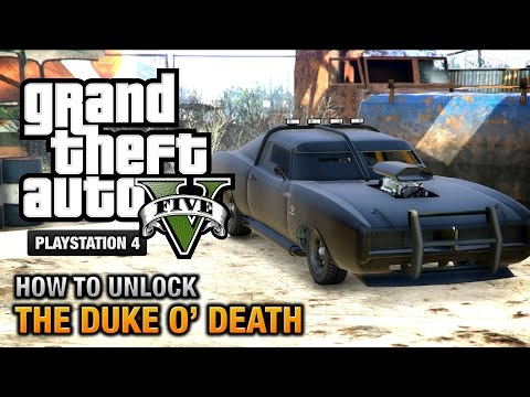 GTA 5 - How to unlock Duke O