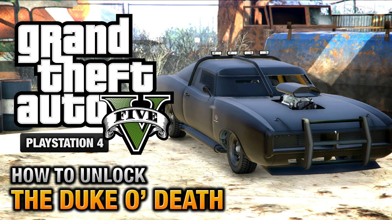 Duel Duke O Death together with Gta 5 Duke O Death Gta Online together with Base Militaire Sur La Carte De Gta 5 in addition Watch besides Watch. on o car location gta 5 duke