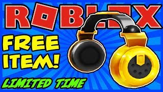 [FREE ITEM] BILLIONAIRE'S HEADPHONES FREE VIRTUAL ITEM IN ROBLOX - HURRY! LIMITED TIME!
