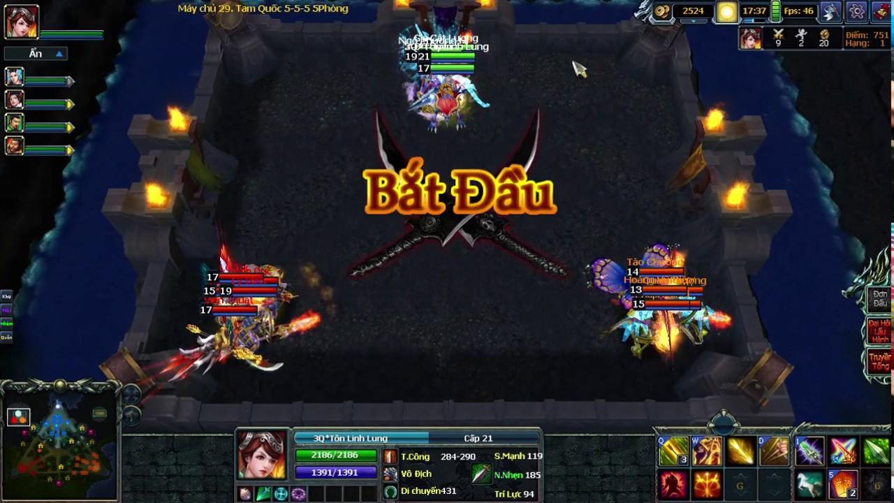 3Q Củ Hành Map 5-5-5 3Q Tôn Linh Lung 4 trận late nó nhắm fc 4 trận