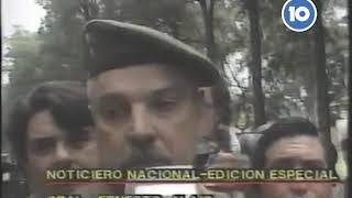 LEVANTAMIENTO CARAPINTADA DE SEMANA SANTA 02 VIERNES 17 4 1987
