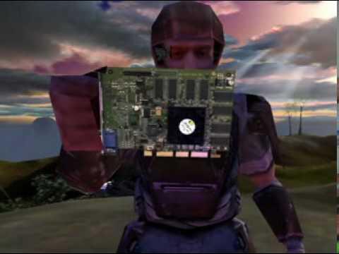 Before Halo 2000: NVIDIA GeForce2 GTS NV15 Promo Hilarious