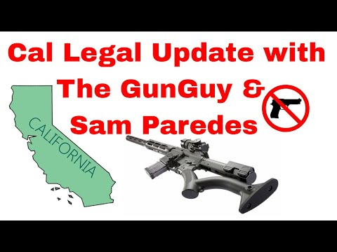 Cal Legal Update with Sam Paredes of Gun Owners of California