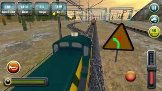 Indian Train Racing Games 3D - Multiplayer  Lvl 10 (Android Gameplay )