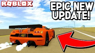DRIVING ALL THE *NEW* CARS in ULTIMATE DRIVING! (Roblox)