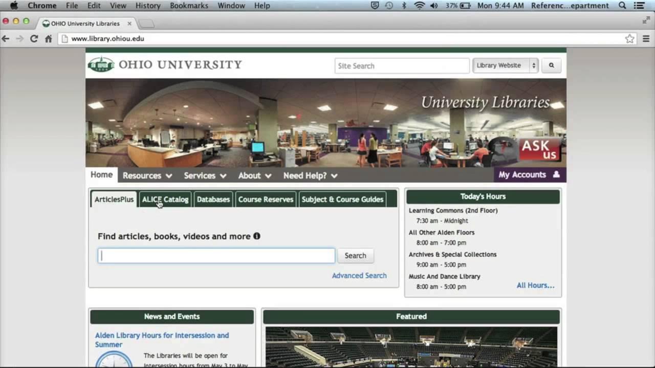 Dissertation statistical services ohio university