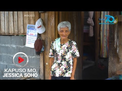 Kapuso Mo, Jessica Soho: 75-anyos na ina, itinataguyod ang mga anak na may kapansanan sa pag-iisip