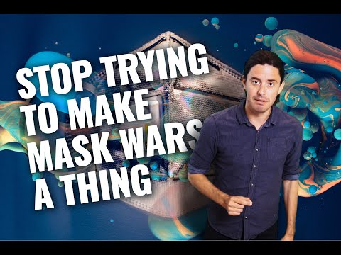 Not My Party Episode 214   Stop Trying To Make Mask Wars a Thing