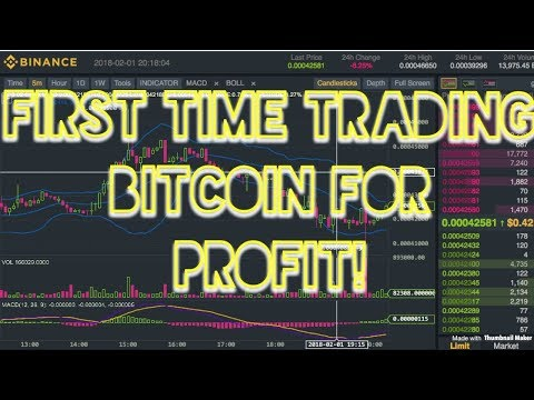 1st Time Trading Bitcoin For Profit - first time trader!!!