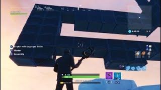 [BUG] Making an invisible wall has any place on Fortnite in creative mode