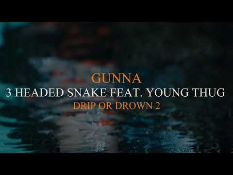 Gunna – 3 Headed Snake Feat. Young Thug [Official Audio]