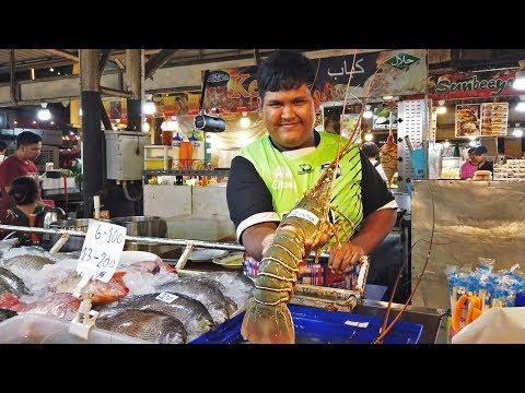Ночной рынок на Пхукете. Цены на еду и одежду в Патонге Таиланд