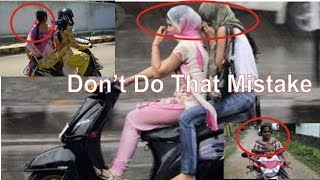 road rules | road safety tips | traffic rules | don't do that when you are riding on the road