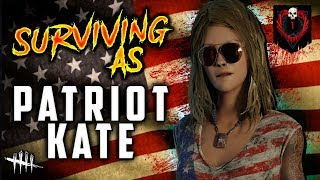 SURVIVING as PATRIOT KATE [#230] Dead by Daylight with HybridPanda