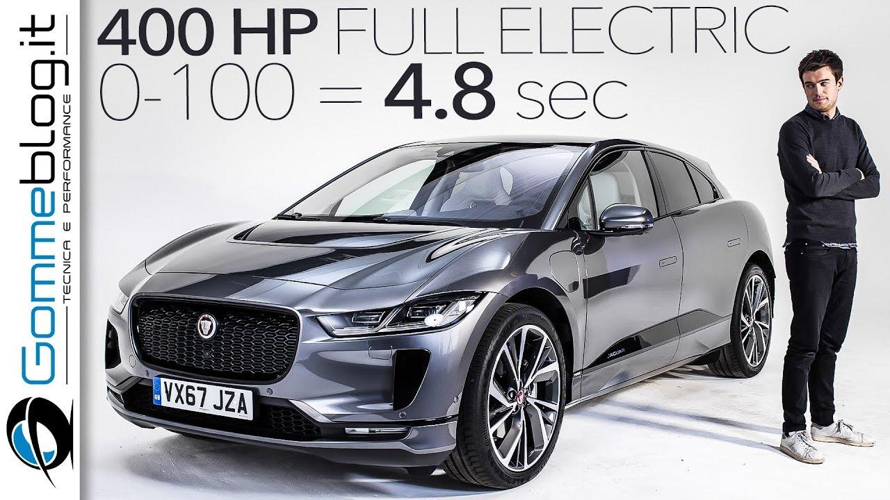 Jaguar I Pace Electric Car Vehicle New 2018 2019 Tesla Model X