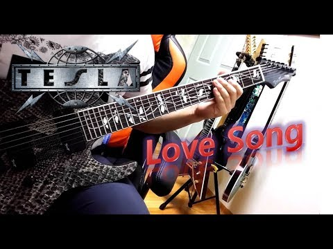 Tesla - Love Song (Guitar Cover with Solo)