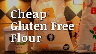 DIY Cheap Gluten Free Flour Mix