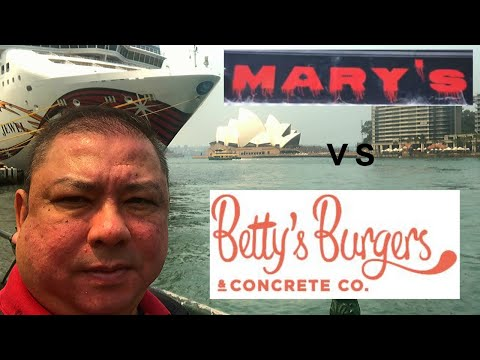 Best Burger In Sydney? Mary's Burger And Betty's Burger