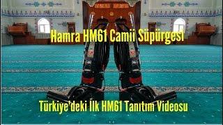Hamra HM61 Cami Süpürgesi.Hm61'in Türkiye'deki İlk inceleme videosudur.