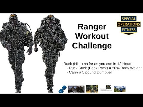 Ranger Workout Challenge