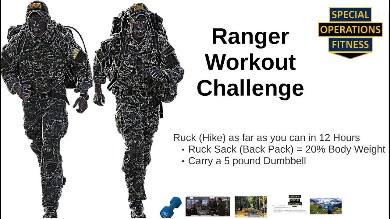 Ranger Workout Challenge
