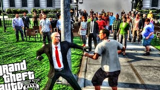 GTA 5 PC - Hitman President Speech Assassination (Grand Theft Auto 5 Agent 47 Hitman Mod)