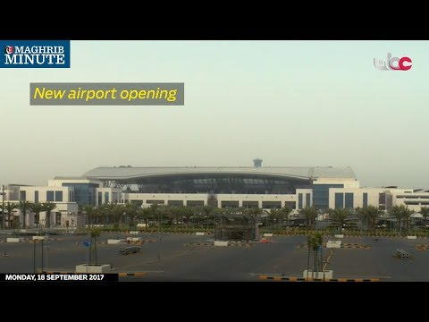 New airport opening