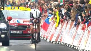 Велоспорт  Тур де Франс  1 й этап 2 часть
