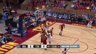Willie Reed posts 21 points & 11 rebounds vs. the Charge, 4/3/2015