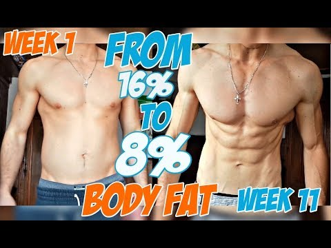 11 WEEK NATURAL BODY TRANSFORMATION | From FAT to SHREDDED | My BEST PHYSIQUE!