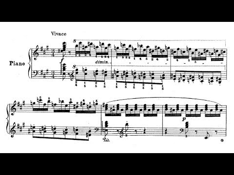 Vasily Sapelnikov - Dance of the Elves, Op. 3 (audio + sheet music)